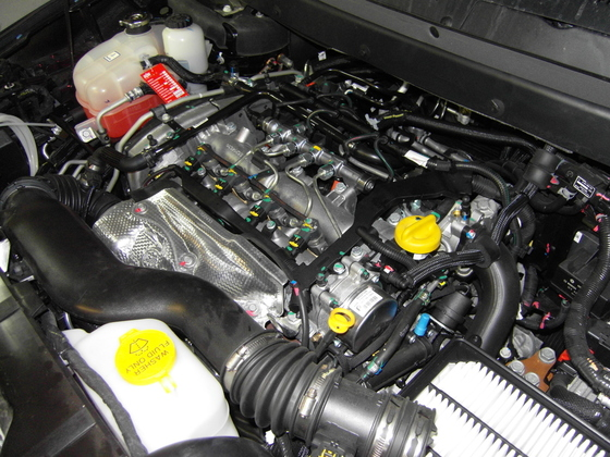 Multijet2-Motor ohne Abdeckung