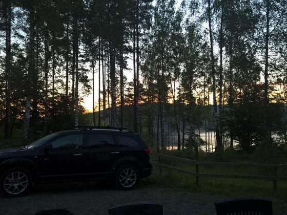 Urlaub in Schweden / 6 Räder auf dem Freemont und Kofferraum bis unters DACH...