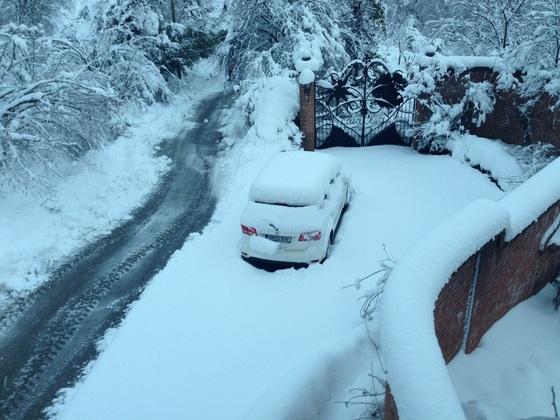 Jetzt hat der Winter auch im Piemont Einzug gehalten
