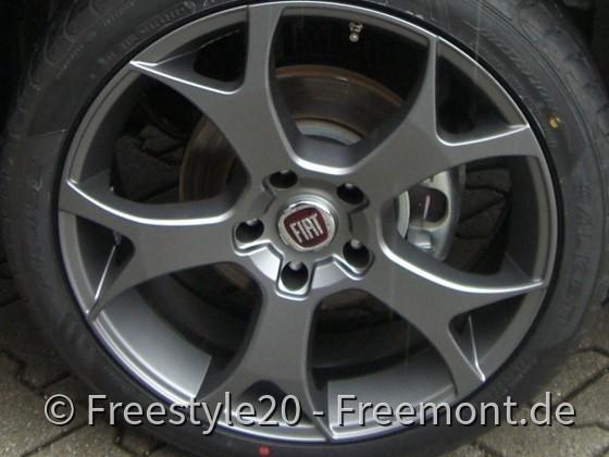 20 Zoll Ghost titanium mit Fiat Nabendeckel